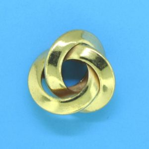 319 - 8x17mm Gold Filled Fancy Bead