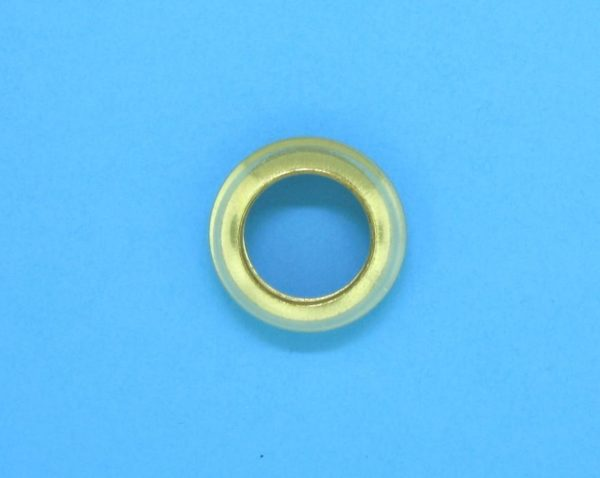 320 - 3.5x11mm Gold Filled Fancy Ring Bead