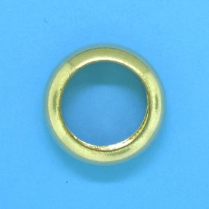 322 - 5.5x14mm Gold Filled Fancy Ring Bead