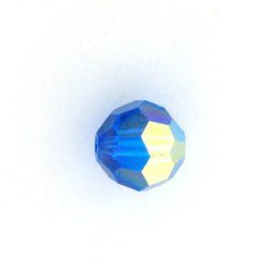 5000 - 7mm Swarovski Round Crystal Capri Blue AB