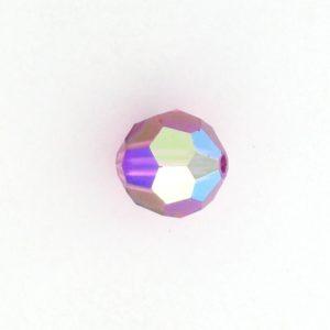 5000 - 7mm Swarovski Round Crystal - Fuchsia AB