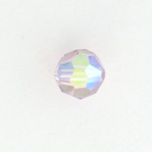 5000 - 7mm Swarovski Round Crystal - Light Amethyst AB