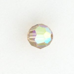 5000 - 7mm Swarovski Round Crystal - Light Colorado Topaz AB