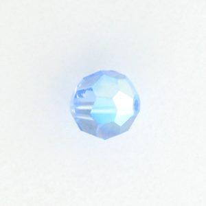5000 - 7mm Swarovski Round Crystal - Light Sapphire AB