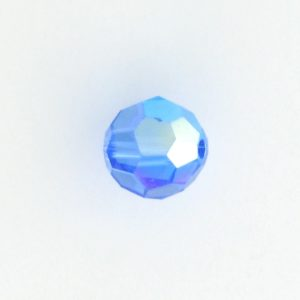 5000 - 7mm Swarovski Round Crystal - Sapphire AB