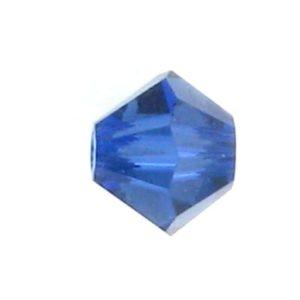 5301/5328 - 4mm Swarovski Bicone Bead - Dark Sapphire