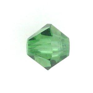 5301/5328 - 4mm Swarovski Bicone Crystal Bead - Green Turmaline
