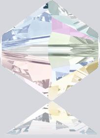 5301/5328 - 10mm Swarovski Bicone Bead - Crystal AB