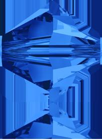 5301/5328 - 10mm Swarovski Bicone Bead - Sapphire