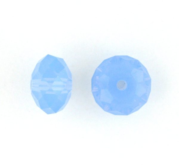 5040 - 6mm Swarovski Briolette Beads - Air Blue Opal