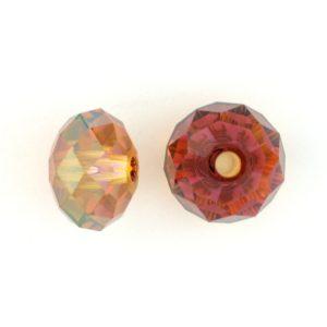 5041 - 12mm Swarovski Briolette Beads (Large Hole) - Copper