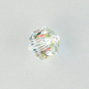 5601 - 10mm Swarovski Cube Crystal - Crystal AB