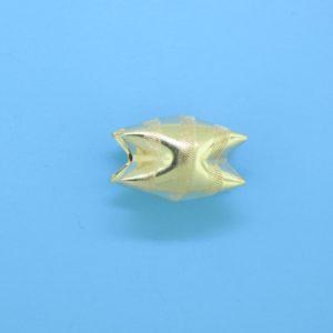 1012 - 15x10.5mm Gold Filled Interlock Bead