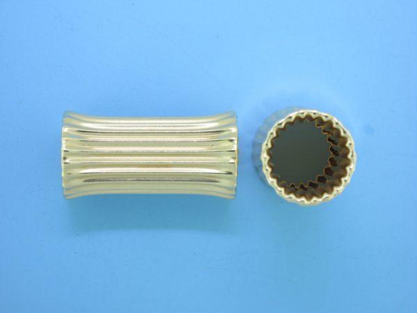 1153 - 14.5x29mm Gold Filled Bone Shape Bead
