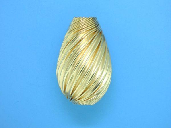 278 - 18.7x29.5mm Gold Filled Drop Bead
