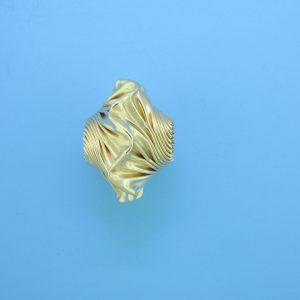 888 - 15x21mm Gold Filled Fancy Bead