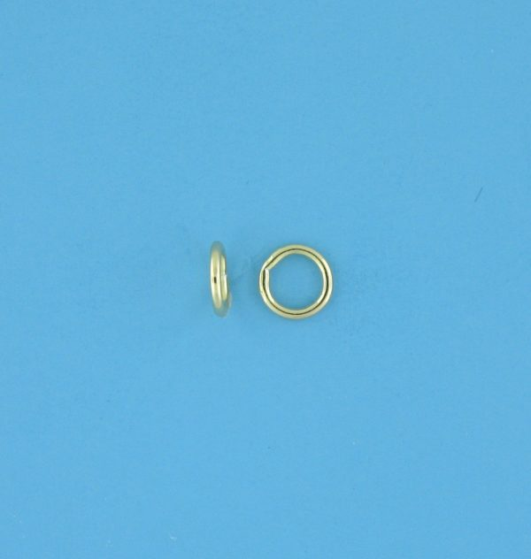 1810 - 5mm Gold Filled Closed Jump Ring