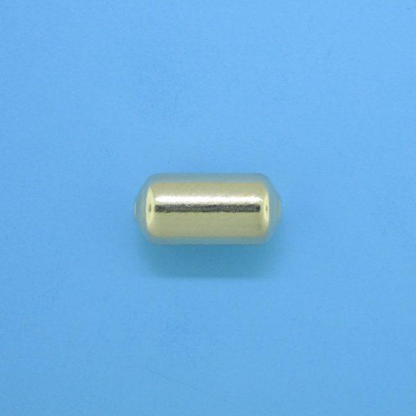 1075 - 6.2x13mm Gold Filled Fancy Bead