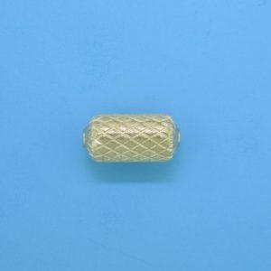 1077 - 6.2x13mm Gold Filled Fancy Bead