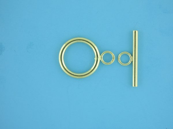 1764 - 17mm Gold Filled Toggle Clasp