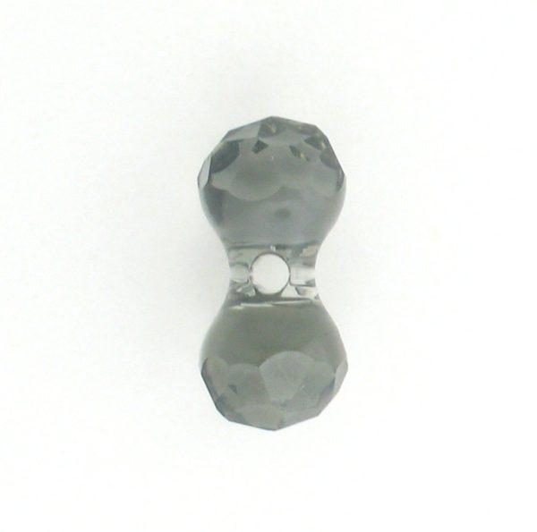 5150 - 11x6mm Swarovski Crystal Modular Bead - Black Diamond