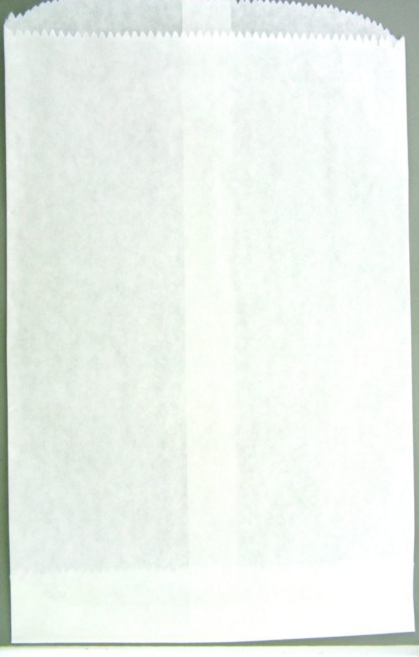 11082 - 6.25inx10in White Paper Bag (100 Bags)
