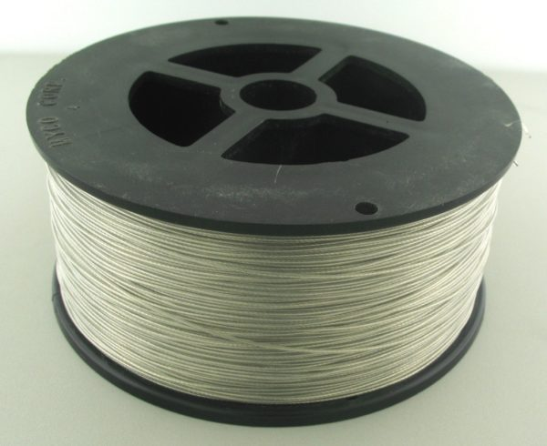 11043 - Tiger Tail Wire - 0.022, 1x7, 1000ft
