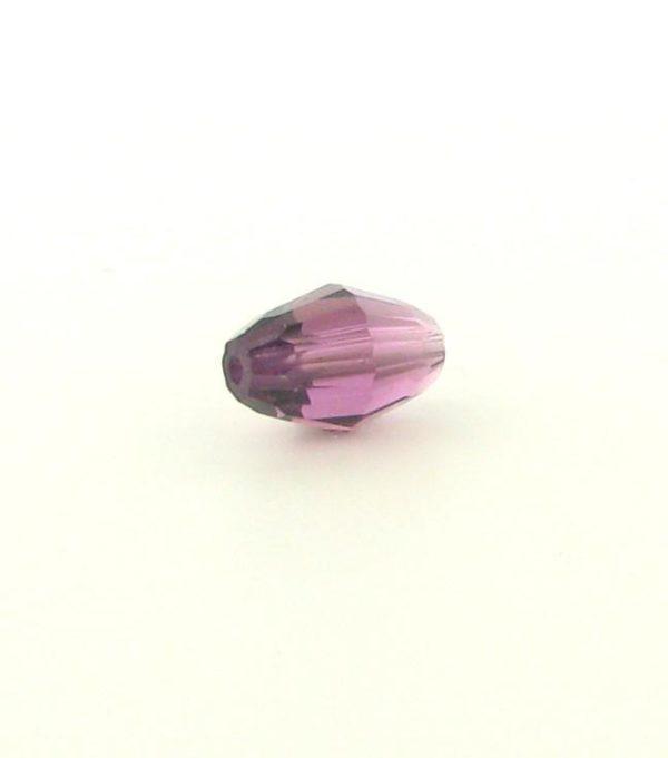 5200 - 9x6mm Swarovski Crystal Oval Bead - Amethyst