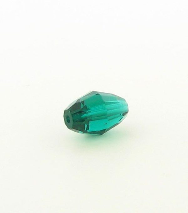 5200 - 9x6mm Swarovski Crystal Oval Bead - Emerald