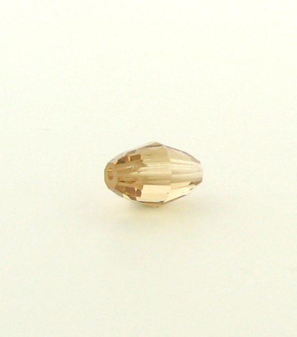 5200 - 9x6mm Swarovski Crystal Oval Bead - Light Colorado Topaz