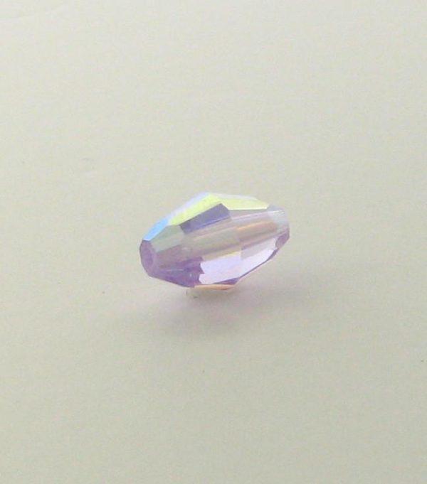 5200 - 9x6mm Swarovski Crystal Oval Bead - Violet AB