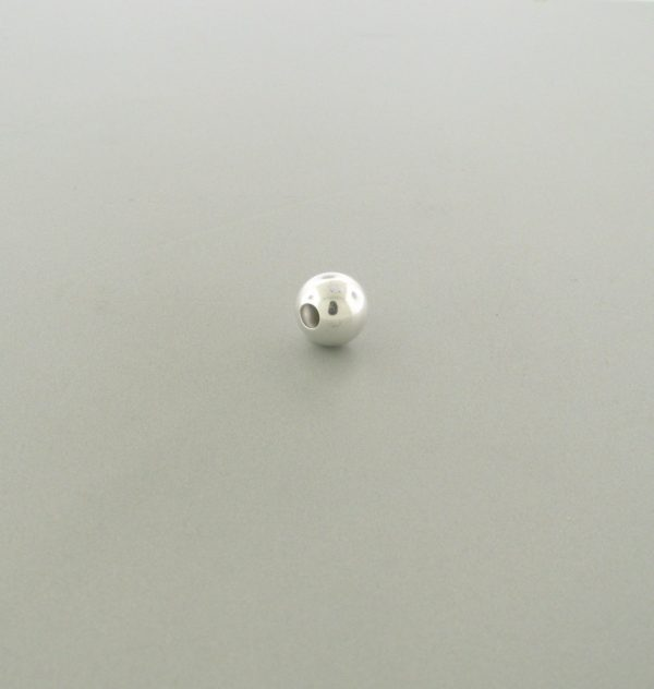 560 - 2mm Sterling Silver Plain Round Bead