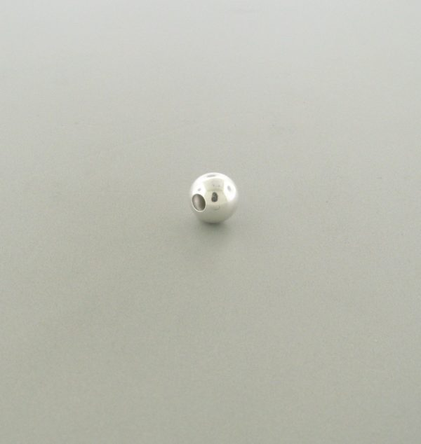 561 - 2.5mm Sterling Silver Plain Round Bead