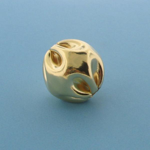 961 - 21mm Gold Filled Fancy Bead