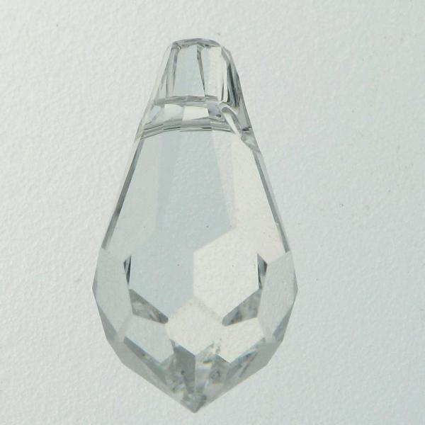 6000 - 11x5.5mm Swarovski Crystal Drop Pendants - Crystal