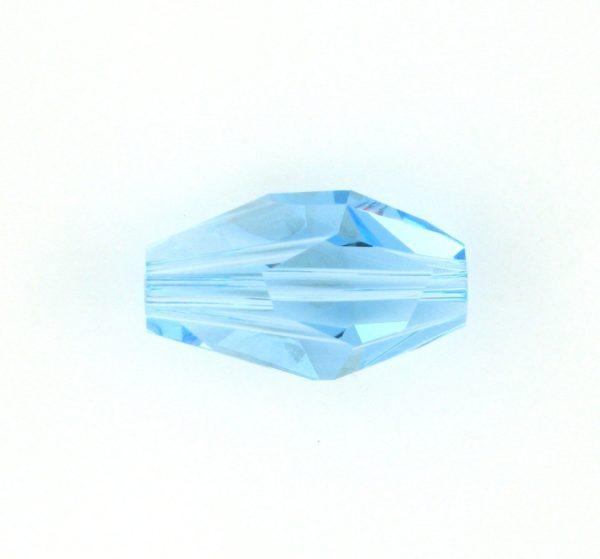 5203 - 12x8mm Swarovski Polygon Bead - Aquamarine