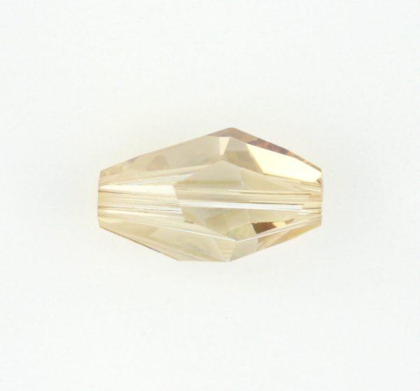 5203 - 12x8mm Swarovski Polygon Bead - Golden Shadow