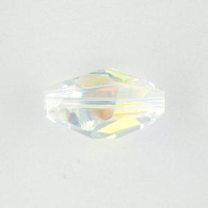 5203 - 18x12mm Swarovski Polygon Bead - Crystal AB