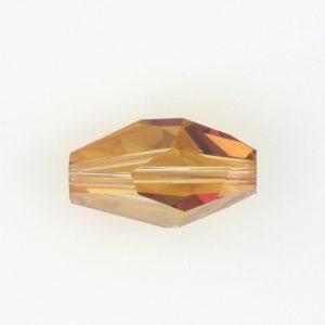 5203 - 18x12mm Swarovski Polygon Bead - Copper