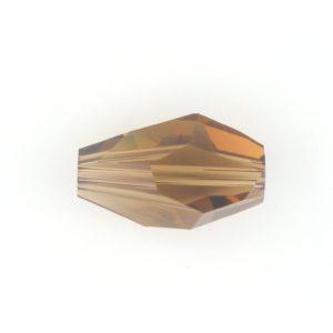 5203 - 18x12mm Swarovski Polygon Bead - Smoked Topaz