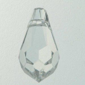 6000 - 15x7.5mm Swarovski Crystal Drop Pendants - Crystal