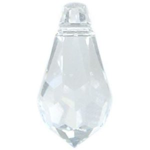 6000 - 13x6.5mm Swarovski Crystal Drop Pendants - Crystal