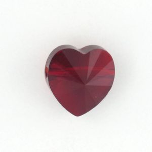 5742 - 8mm Swarovski Crystal Heart Bead - Siam