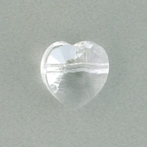 5742 - 10mm Swarovski Heart Bead - Crystal