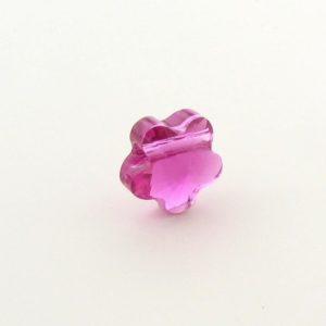 5744 - 6mm Swarovski Crystal Flower Bead - Fuchsia