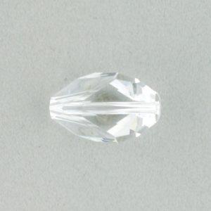 5650 - 12x8mm Swarovski Cubist Crystal Bead - Crystal