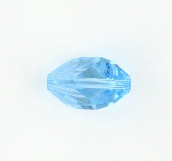 5650 - 12x8mm Swarovski Cubist Crystal Bead - Aquamarine