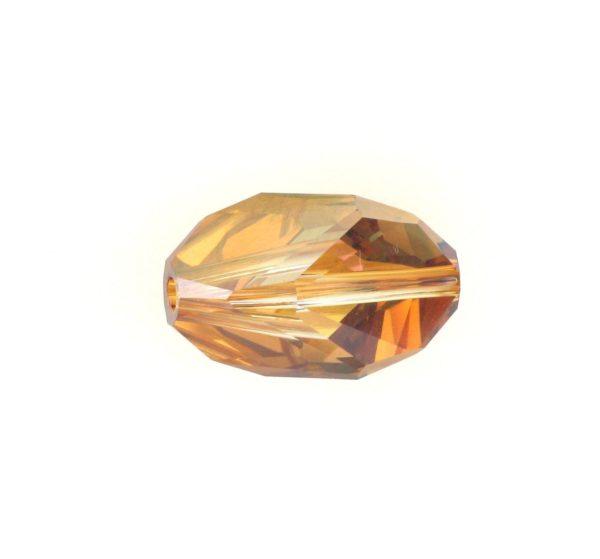 5650 - 12x8mm Swarovski Cubist Crystal Bead - Copper