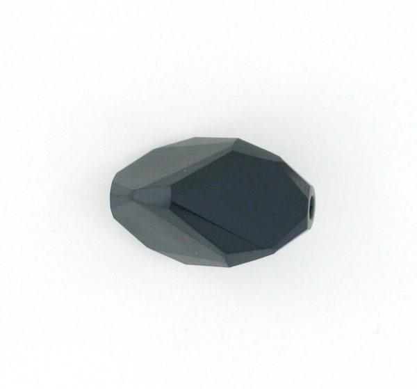 5650 - 12x8mm Swarovski Cubist Crystal Bead - Jet