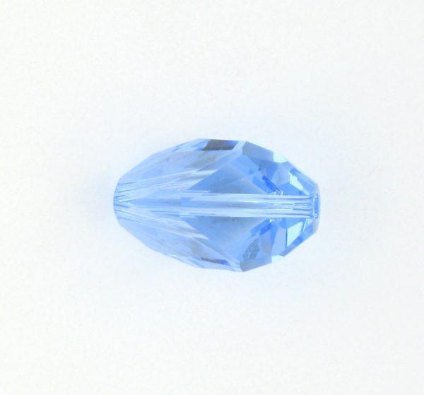 5650 - 12x8mm Swarovski Cubist Crystal Bead - Light Sapphire